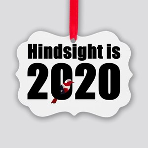 Hindsight is 2020 - Bernie Bird Picture Ornament